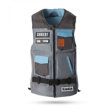 Mystic The Magician Impact Vest, Grey (800), M