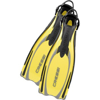 Cressi Reaction EBS, Yellow / Silver, S/M