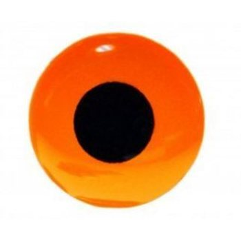 FutureFly 3D Epoxy Eyes, Fl. Orange, 4mm