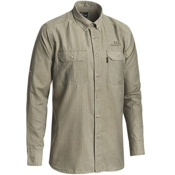Chevalier Kenya Safari Shirt Long Sleeve, Tobacco, S