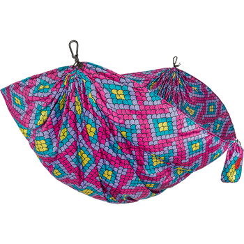 Grand Trunk Double Hammock Nylon Prints, Bubble Gum Scales