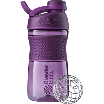BlenderBottle Sportmixer Grip 590ml, Plum