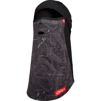 Airhole Balaclava Full Hinge 3 Layer, Topographic Black, M/L