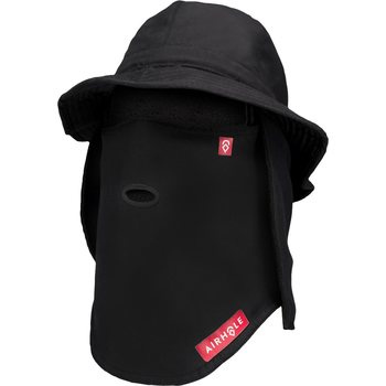 Airhole Bucket Tech Hat, Black, M/L