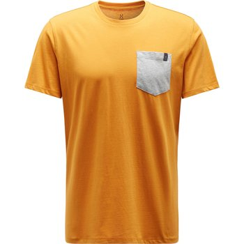 Haglöfs Mirth Tee Men, Desert Yellow/Grey Melange, S