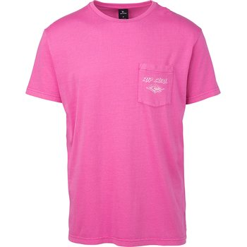 Rip Curl So Authentic Short Sleeve Tee, Pink, S