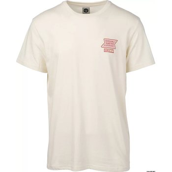 Rip Curl Hearty Vahine Short Sleeve Tee, Off White, S
