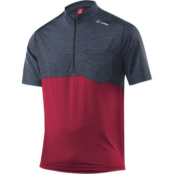 Löffler Bike Shirt Rainbow HZ Mens, Maroon (591), 52