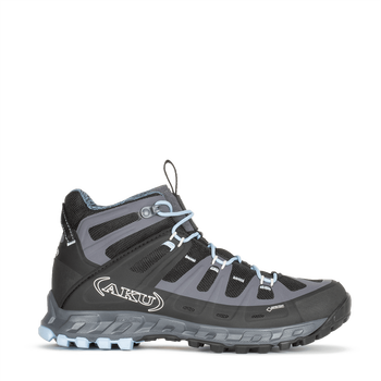 Aku Selvatica Mid GTX W's, Black-Light Blue, EUR 40 (UK 6.5)