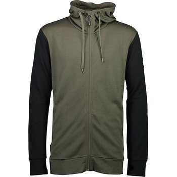 Mons Royale Covert Mid-Hit Hoody M, Olive / Black, XL
