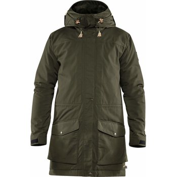 Fjällräven Singi Wool Padded Parka Men, Deep Forest (662), M