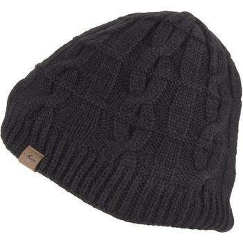 Sealskinz Waterproof Cold Weather Cable Knit Beanie, Black, XXL