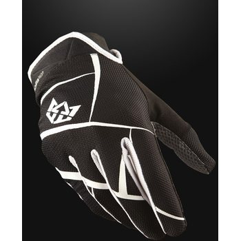 Royal Racing Signature Glove, Black/White, S