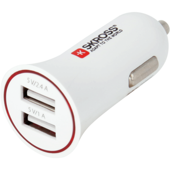 Skross Dual USB Car Charger 12V