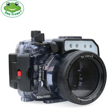 SeaFrogs RX100 I-V Underwater Housing for Sony RX100 I-V Camera