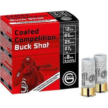 Geco Competition Buck Shot 12/65 9pcs 8mm 410m/s 25 kpl