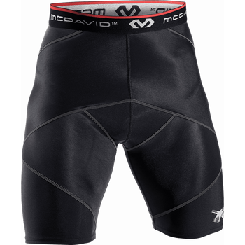 McDavid Cross Compression Shorts (8200), Black, S (71-76cm)