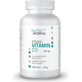Nutri Works Strong Vitamin D3, 100 µg