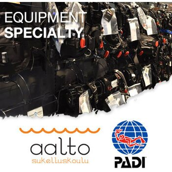 PADI Equipment Specialist -verkkokurssi