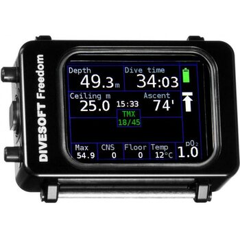 Divesoft CCR Bottom Timer to Closed Circuit