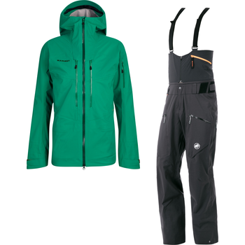 Mammut Haldigrat Hooded Hardshell Jacket + Hardshell Pants Mens