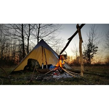 Bushmen Ultralight Tarp 3 x 3 m