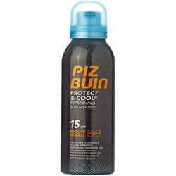 Piz Buin Protect&Cool Refreshing Sun Mousse SPF15, 150ml