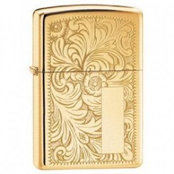 Zippo High Polished Brass Venetian-sytytin