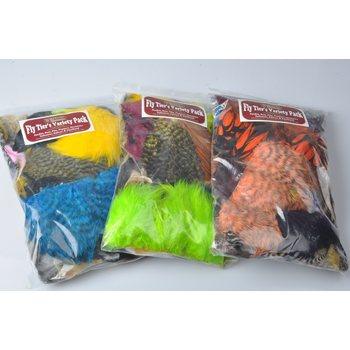 Whiting Fly Tier's Variety Pack höyhenlajitelma