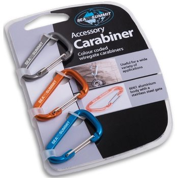 Sea to Summit Accessory Carabiner Set, 3kpl