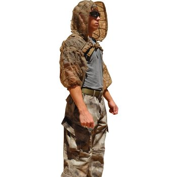 Tactical Concealment SUPER Viper (ghillie suit foundation), SV-2 OD Green (Backdrape upgradable) Wide Grid: Part# 89A5361