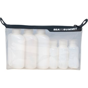 Sea to Summit TPU Clear Zip Top Pouch With Leak Proof Bottles