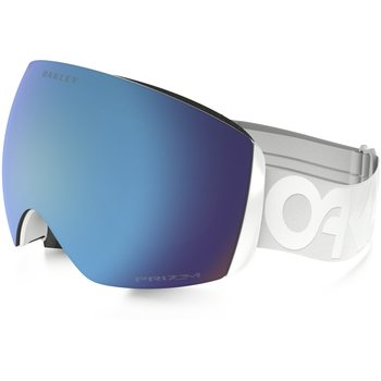 Oakley Flight Deck Factory Pilot Whiteout w/ Prizm Sapphire Iridium