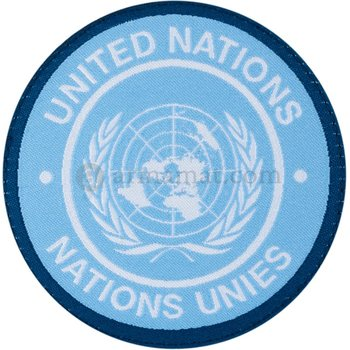 Clawgear United Nations Round Patch