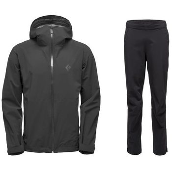 Black Diamond StormLine Stretch Rain Shell + StormLine Stretch Full Zip Rain Pants