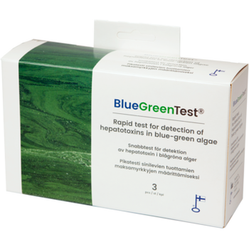 BlueGreenTest Sinilevätesti
