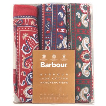 Barbour Paisley Hankies - Boxes Set