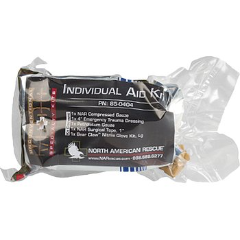 North American Rescue KIT INDIVIDUAL AID