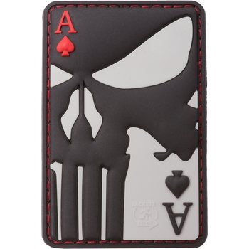 Clawgear Punisher Ace of Spades Rubber Patch