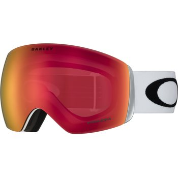 Oakley Flight Deck Matte White w/ Prizm Torch Iridium