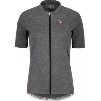 Maloja BorgiaM. Short Sleeve Bike Jersey, Grey Melange, S