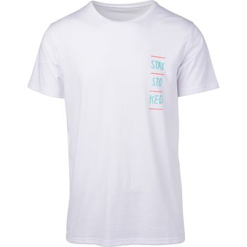 Rip Curl Stay Stoked Short Sleeve Tee, Optical White, S