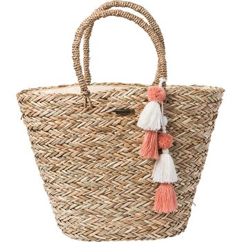 Rip Curl Shorelines Straw Beach Bag