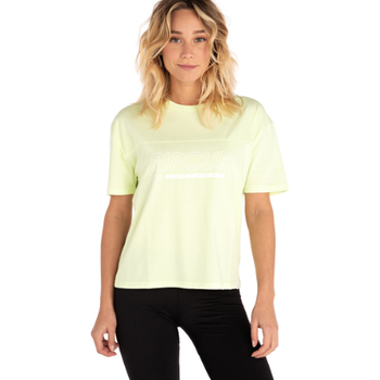 Rip Curl Epic Heights Tee, Neon Lime, M