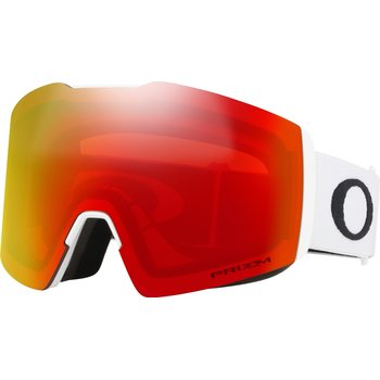 Oakley Fall Line XL Matte White w/ Prizm Torch Iridium